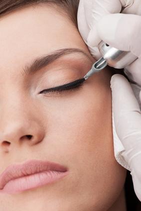 Make-up3 Techniken in einer Ausbildung